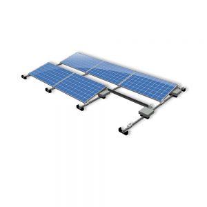 Van der Valk Producten bij Solartoday - Fotovoltage - verbindings- en bevestigingselementen - Alu achter voet ValkPro+ L10° midden