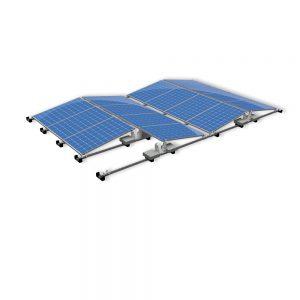 Van der Valk Producten bij Solartoday - Fotovoltage - verbindings- en bevestigingselementen - Alu achter voet ValkPro+ P10° midden
